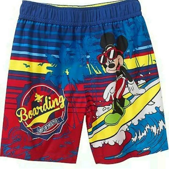 d6b5dc152a Disney Swim | Toddler Boys Mickey Mouse Short Trunk 3t | Poshmark